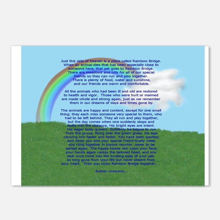 Rainbow Bridge Template Rainbow Bridge Postcards