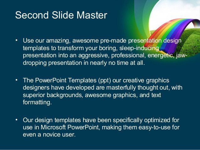 Rainbow Bridge Template Rainbow Bridge Powerpoint Template by Poweredtemplate