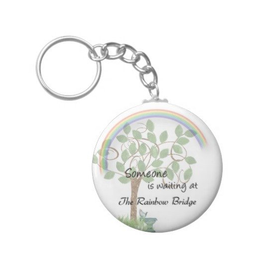 Rainbow Bridge Template Waiting at Rainbow Bridge Keychain Template