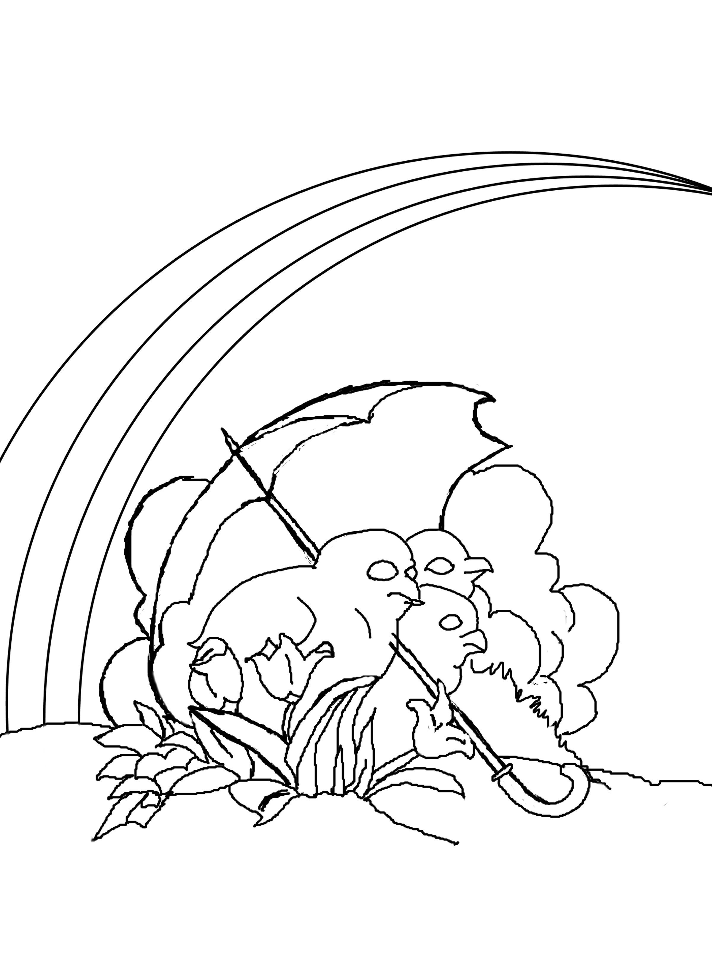Rainbow Pictures to Print Free Printable Rainbow Coloring Pages for Kids