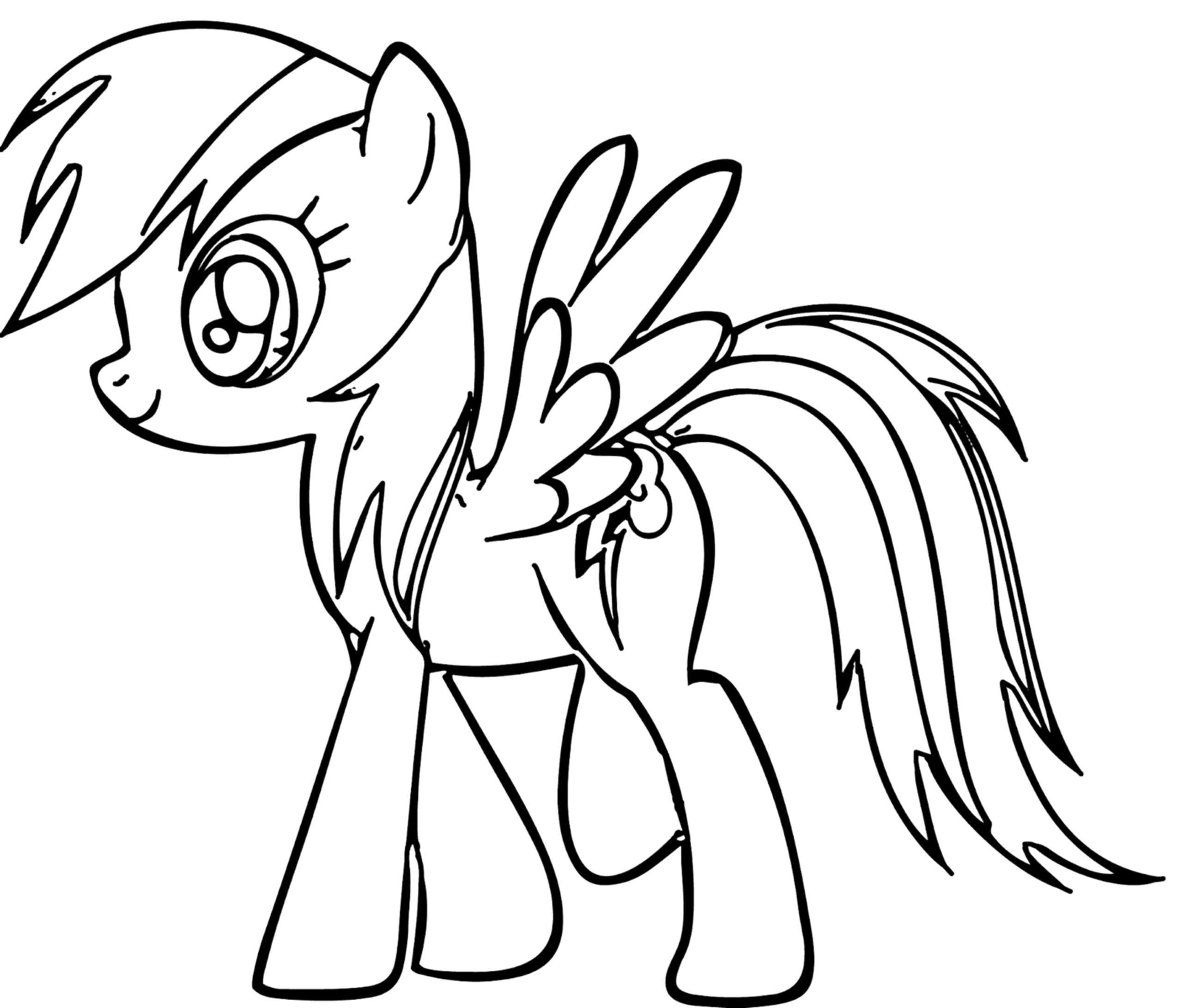 Rainbow Pictures to Print Rainbow Dash Coloring Pages Best Coloring Pages for Kids