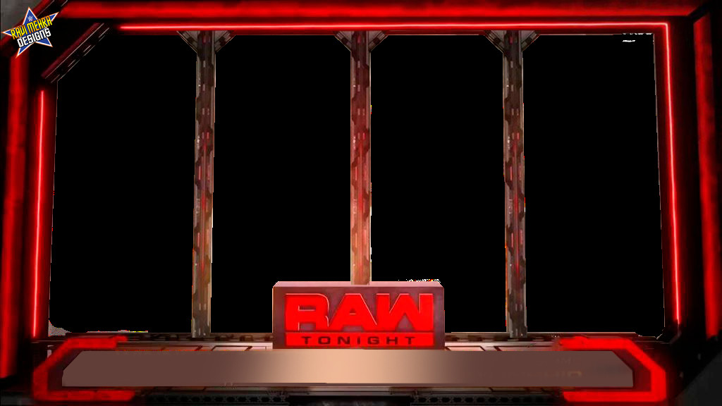 Raw Match Card Template Renders Backgrounds Logos Raw 2016 Match Card New Era
