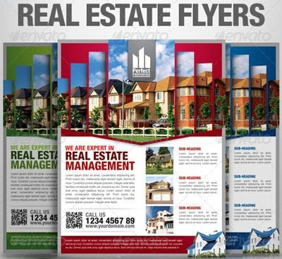 Real Estate Ad Templates 15 Real Estate Flyer Templates for Marketing Campaigns
