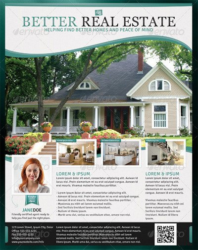 Real Estate Ad Templates Newsletter Design Ad Design and Marketing Ideas On Pinterest