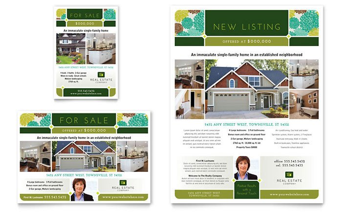 Real Estate Ad Templates Real Estate Flyer & Ad Template Design