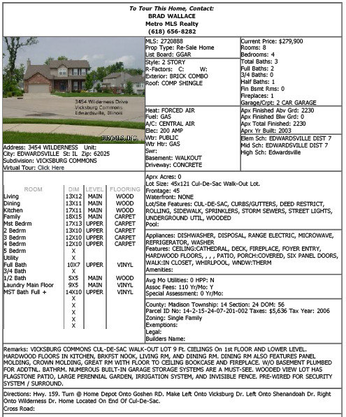 Real Estate Fact Sheet Template 23 Of House Listing Sheet Template