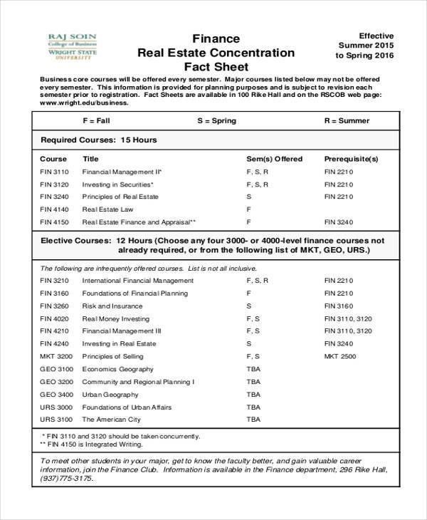 Real Estate Fact Sheet Template 45 Printable Sheet Samples & Templates Pdf Doc