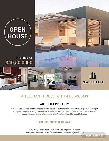 Real Estate Flyer Template Free 29 Free Real Estate Flyer Templates