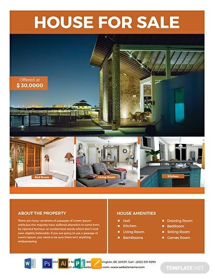 Real Estate Flyer Template Free 35 Free Real Estate Flyer Templates [download Ready Made