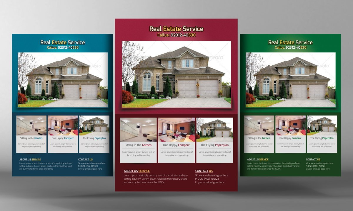 Real Estate Flyer Template Free Real Estate Flyers Template Flyer Templates Creative