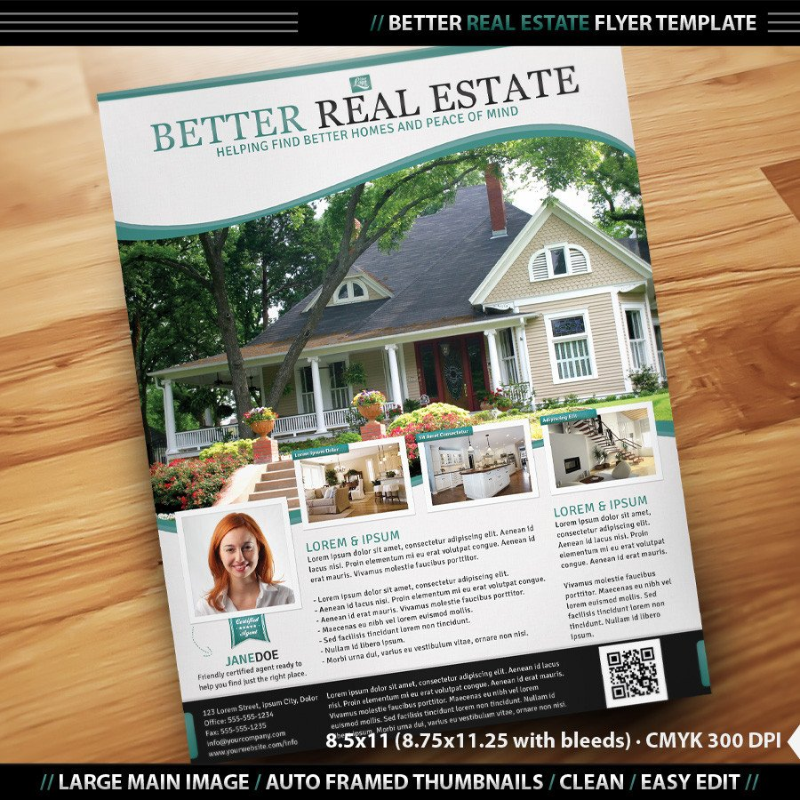 Real Estate Flyer Templates Real Estate Flyer Inenx
