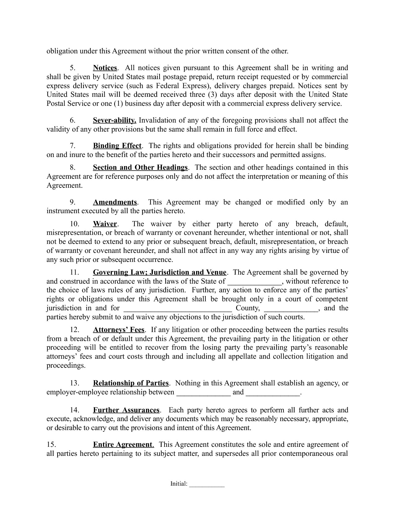 Real Estate Partnership Agreement Partnership Agreement 1