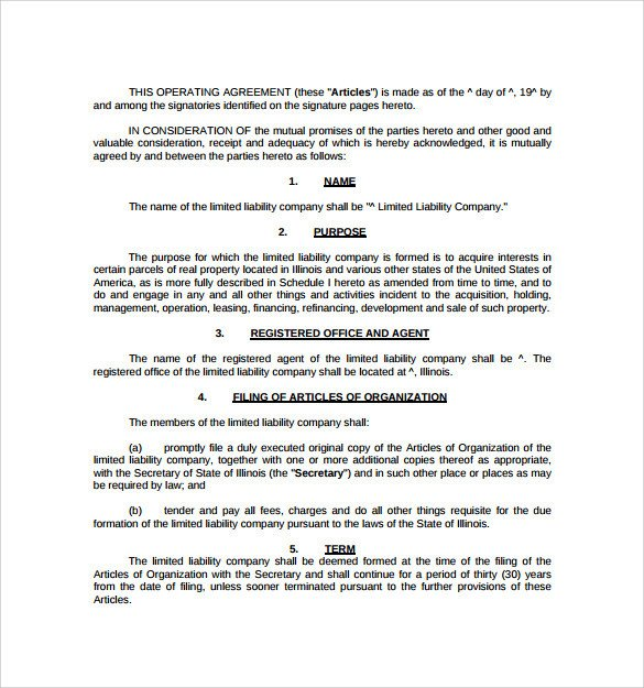 Real Estate Partnership Agreement Sample Real Estate Partnership Agreement 13 Free