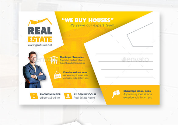 Real Estate Postcard Templates 18 Real Estate Postcard Templates – Free Sample Example