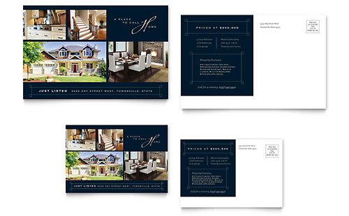 Real Estate Postcard Templates Real Estate Marketing Brochures Flyers Postcards