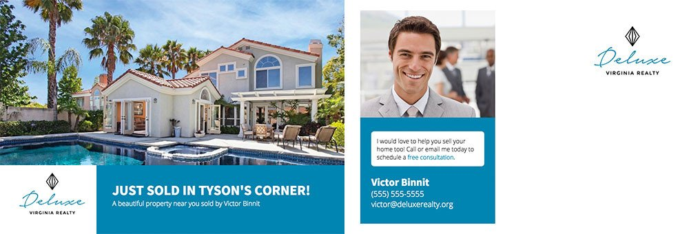 Real Estate Postcard Templates Real Estate Marketing Postcard Template Free Download