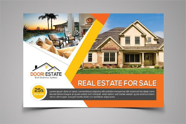 Real Estate Postcard Templates Real Estate Postcard Template 25 Psd Ai Eps format