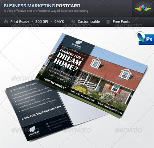 Real Estate Postcard Templates Sample Real Estate Marketing Postcard Templates