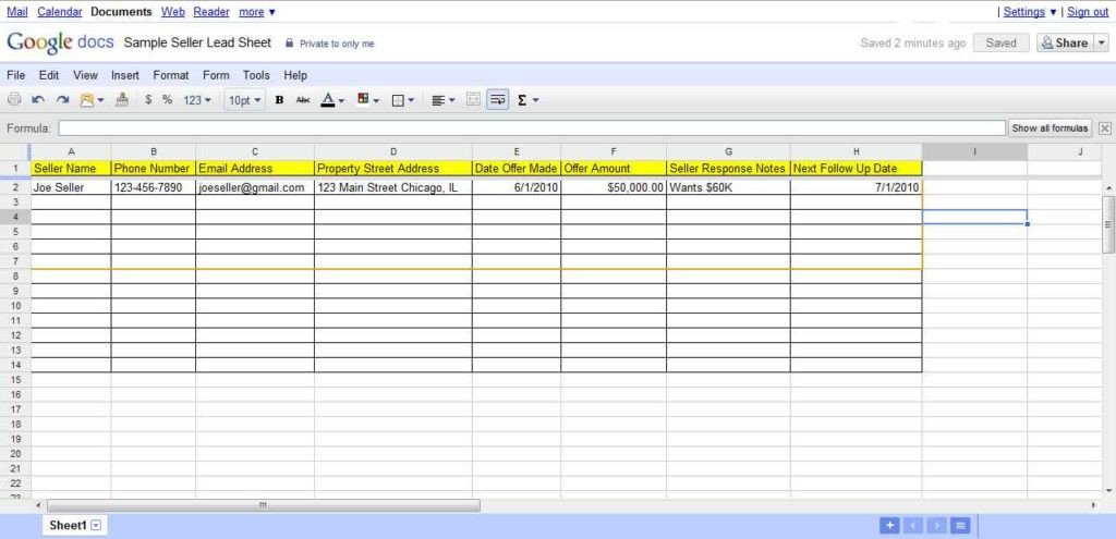 Real Estate Spreadsheet Templates Real Estate Spreadsheet Templates Real Estate Spreadsheet