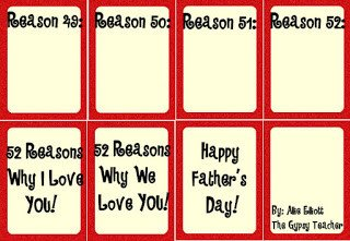 Reasons I Love You Template 52 Reasons why We Love Dad the Gypsy Teacher