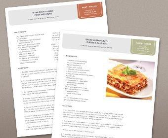 Recipe Book Template Word Best 20 Cookbook Template Ideas On Pinterest