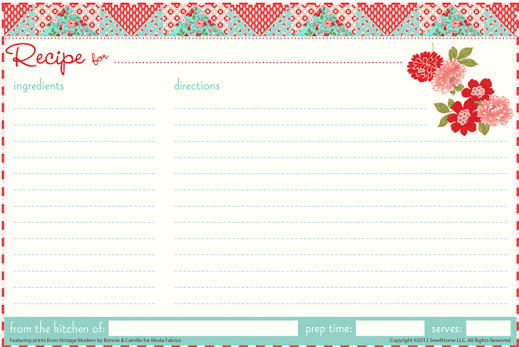 Recipe Template for Word 13 Recipe Card Templates Excel Pdf formats