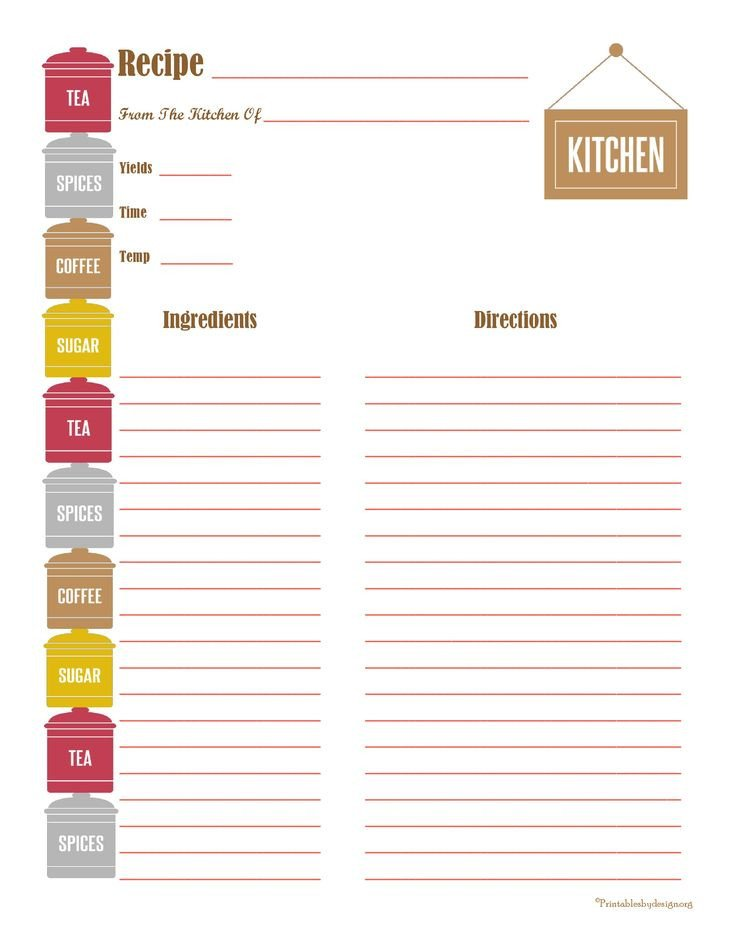 Recipe Templates for Pages 478 Best Images About Printable Recipe Cards On Pinterest