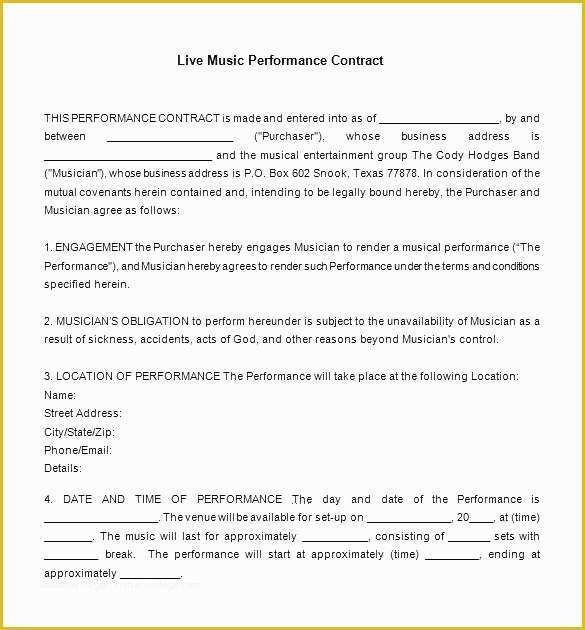 Record Label Contract Template 56 Record Label Contract Template Free