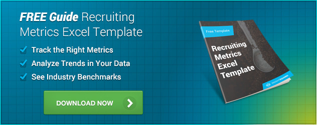 Recruiting Metrics Excel Template Recruiting Metrics Template
