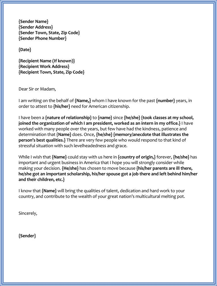 Reference Letter for Immigration 17 Sample Character Reference Letter for Court Judge