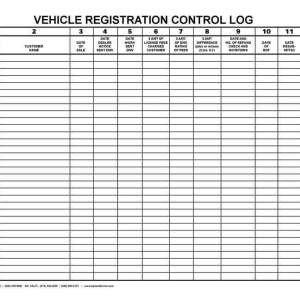 Reg 262 Template Automotive Sales forms Archives Bpi Custom Printing