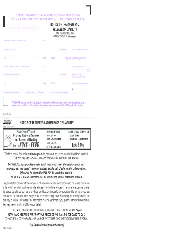 Reg 262 Template Motor Vehicle Transfer form Kra Impremedia