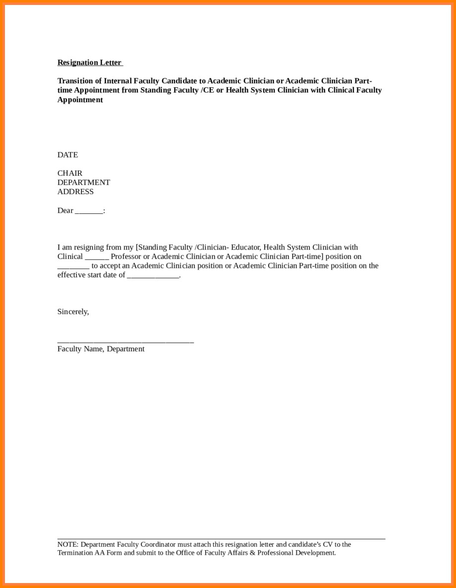 Registered Nurse Resignation Letter 5 Resignation Letter Registered Nurse