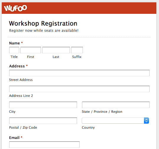 Registration form Template Free Download Printable Registration form Templates Word Excel Samples