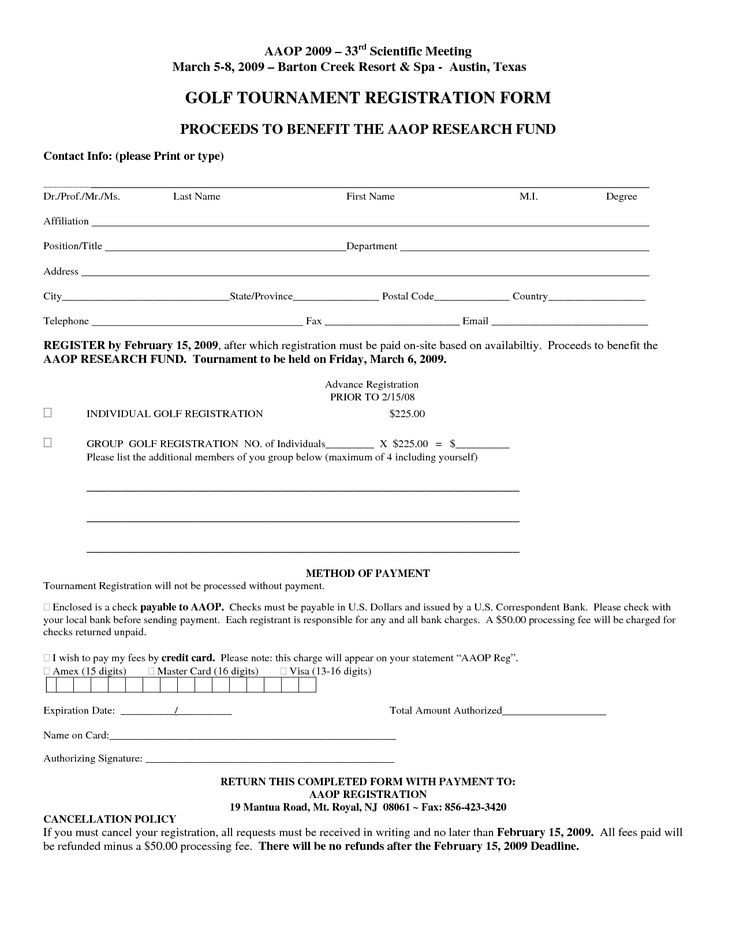 Registration form Template Free Free Registration form Template