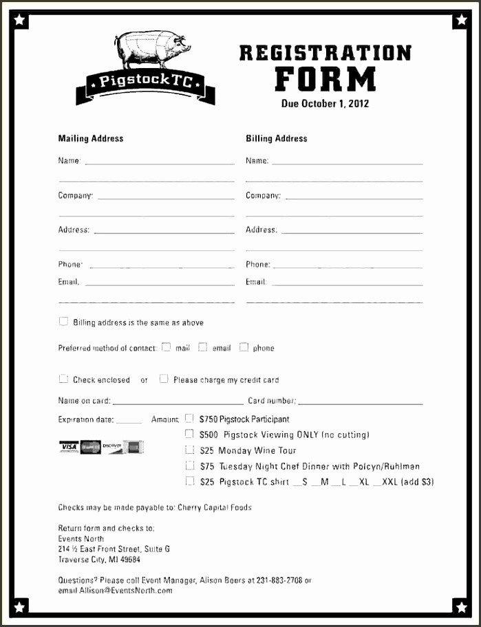 Registration form Template Microsoft Word 10 event Registration form Template Microsoft Word