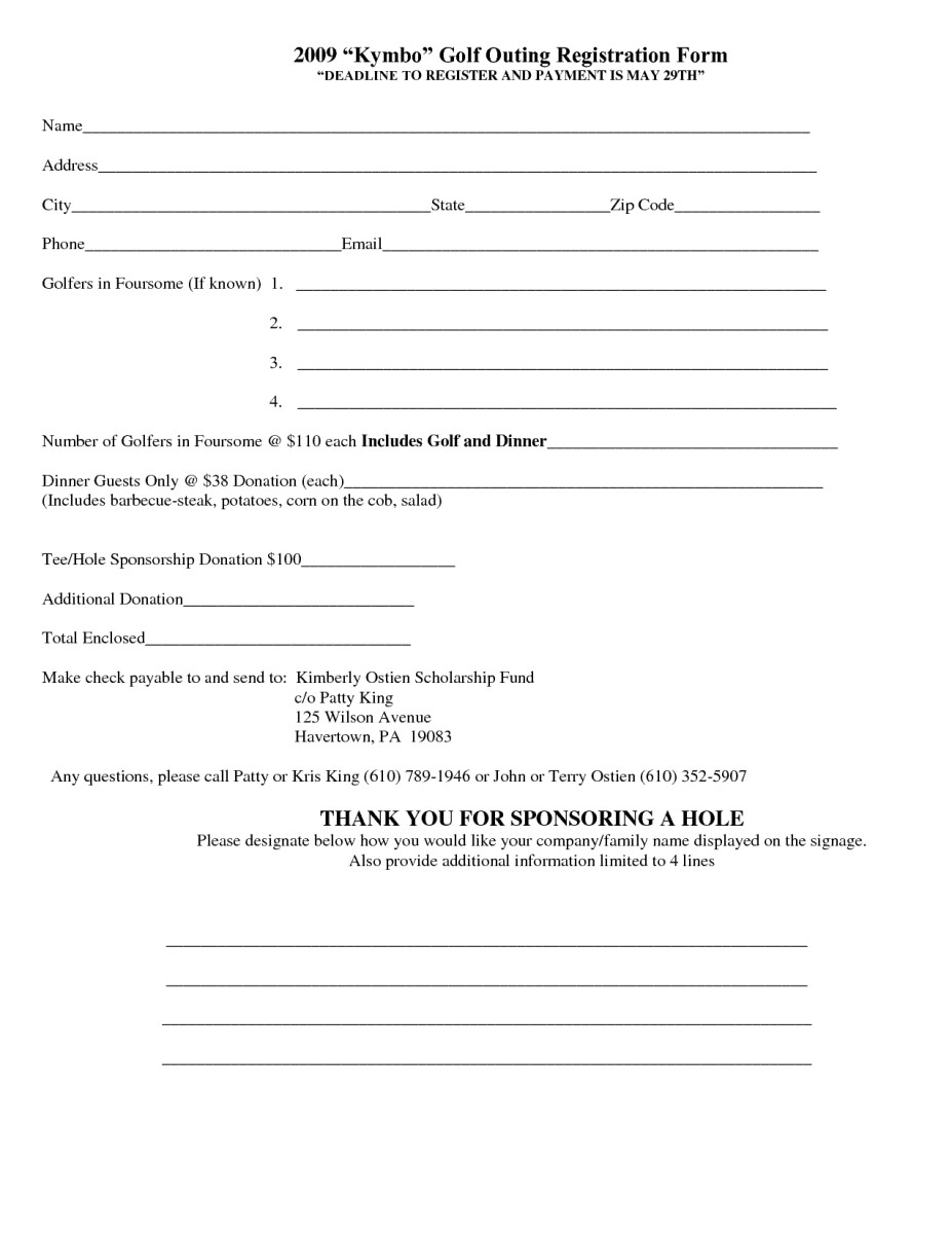 Registration form Template Microsoft Word 5 Registration form Templates Word – Word Templates