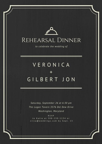 Rehearsal Dinner Invitation Template Customize 411 Rehearsal Dinner Invitation Templates