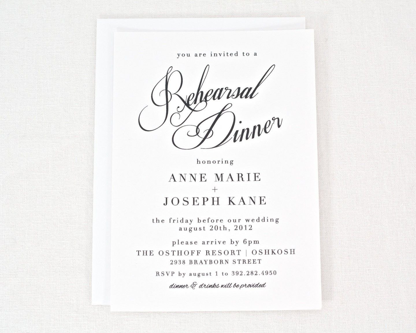 Rehearsal Dinner Invitation Template Free Rehearsal Dinner Invitation Templates Printable