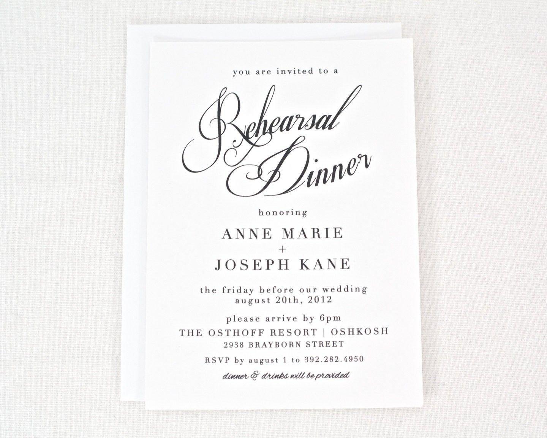 Rehearsal Dinner Invitation Template Free Rehearsal Dinner Invitation Templates Printable