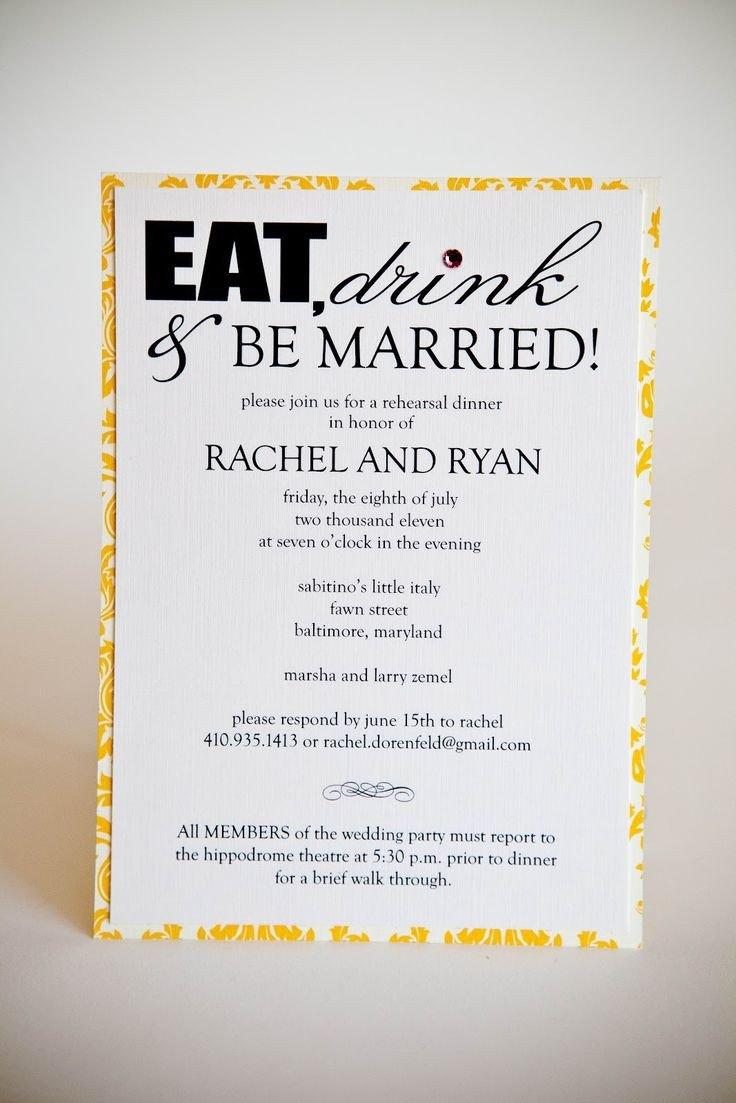 Rehearsal Dinner Invitation Template Pinterest Discover and Save Creative Ideas