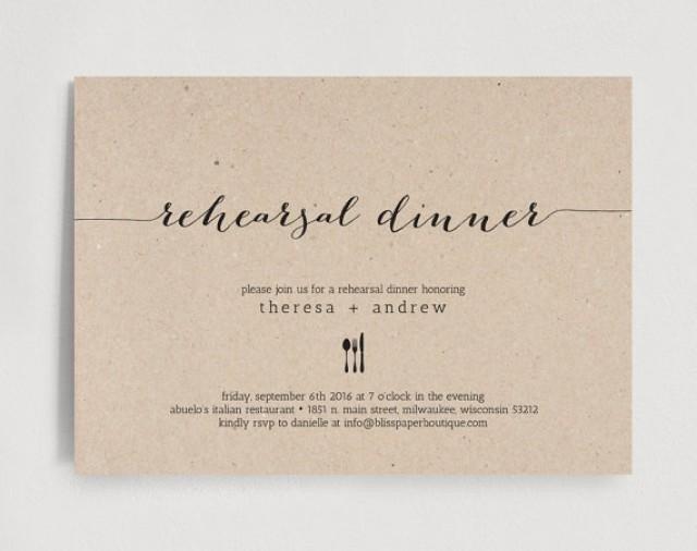 Rehearsal Dinner Invitation Template Rehearsal Dinner Invitation Wedding Rehearsal Editable