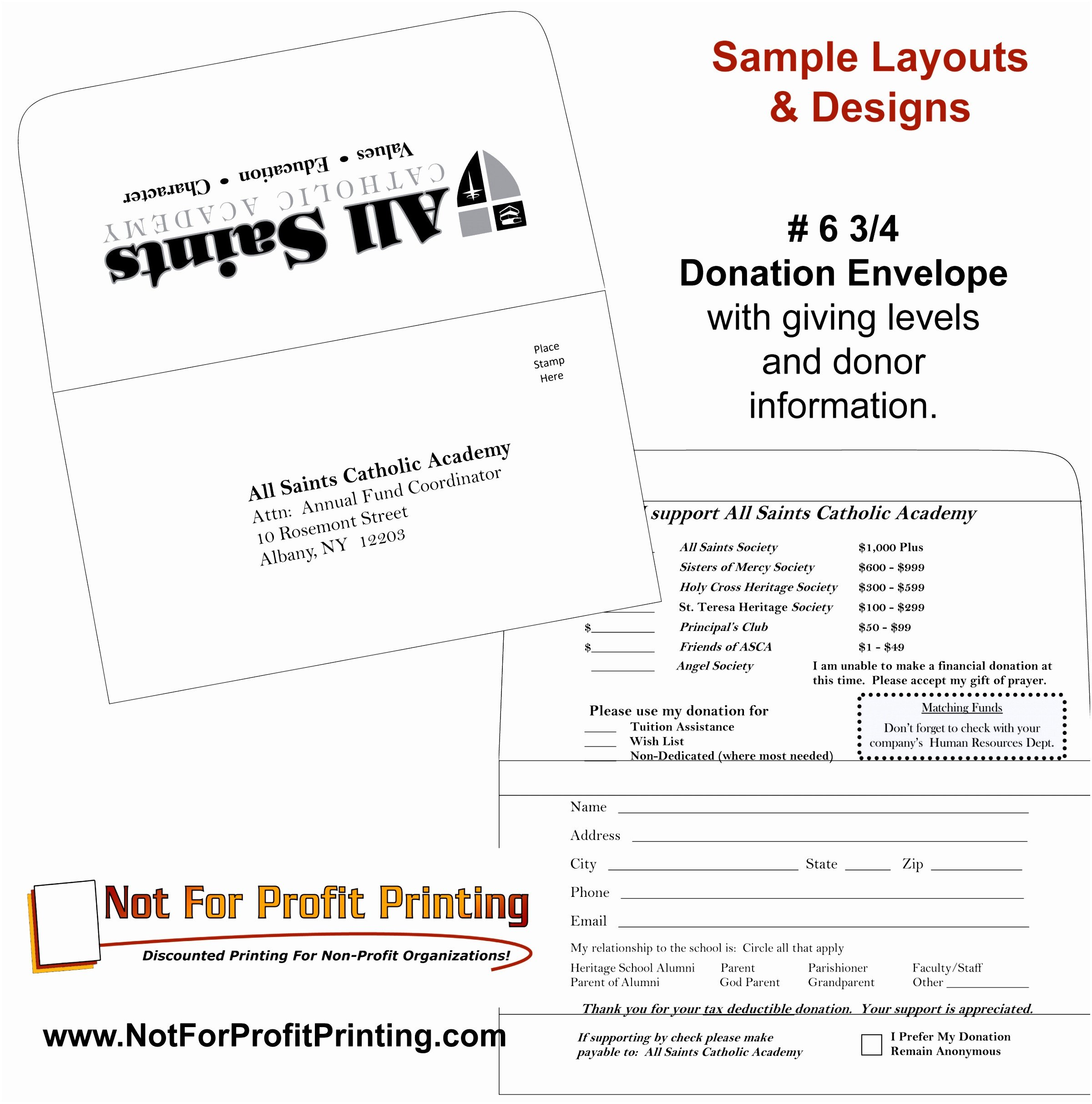 Remittance Envelope Template Word 8 Donation Envelope Template Ytwhp