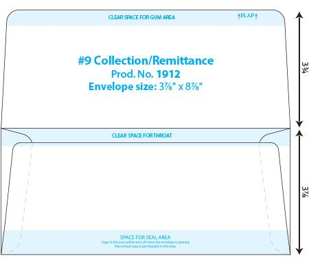 Remittance Envelope Template Word Envelope Templates Collection & Dual Page Envelope