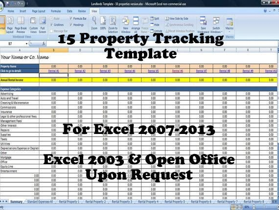 Rental Income Spreadsheet Template 12 Best Rental Property Management Templates Images On