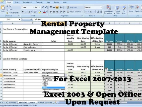 Rental Income Spreadsheet Template 13 Best Rental Property Management Templates Images On
