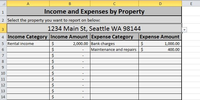 Rental Income Spreadsheet Template Free Expense Tracking Spreadsheet for Your Rentals – We've