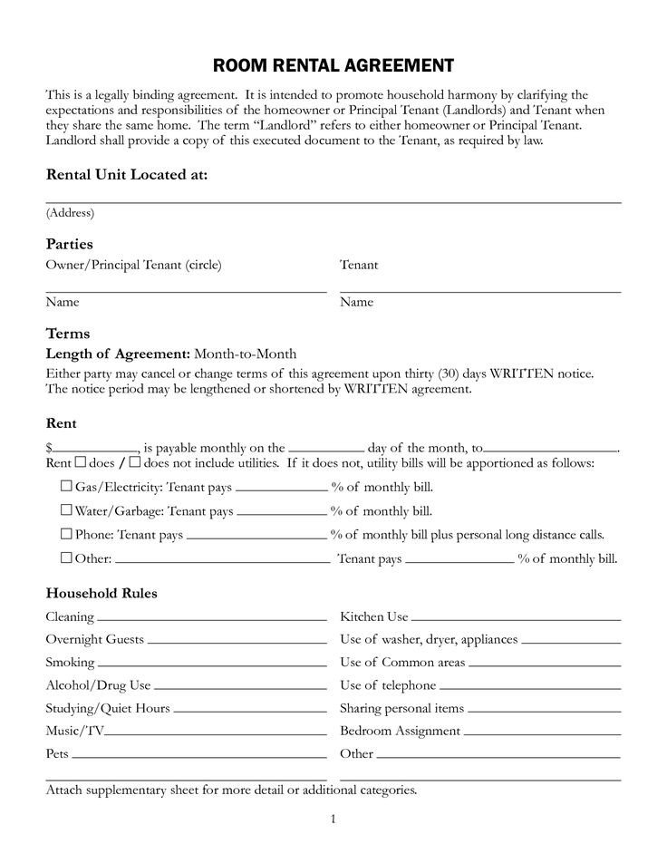 Rental Lease Agreement Template 11 Best Rental Agreements Images On Pinterest