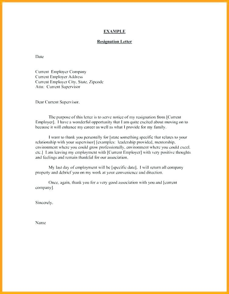 Resignation Letter Personal Reason 9 Family Reason Resignation Letter for Personal Problem