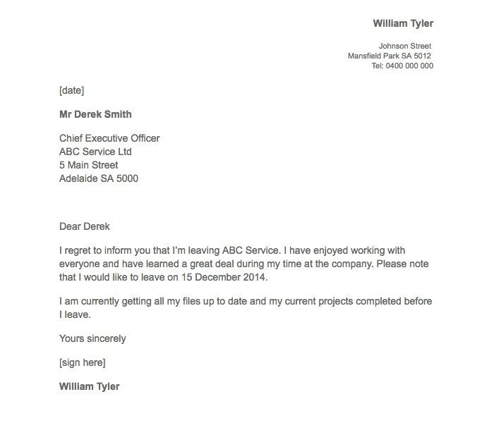 Resignation Letter with Regret 21 Simple Two Weeks Notice Letter Resignation Templates